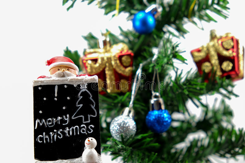Santa Doll fotografía de archivo libre de regalías