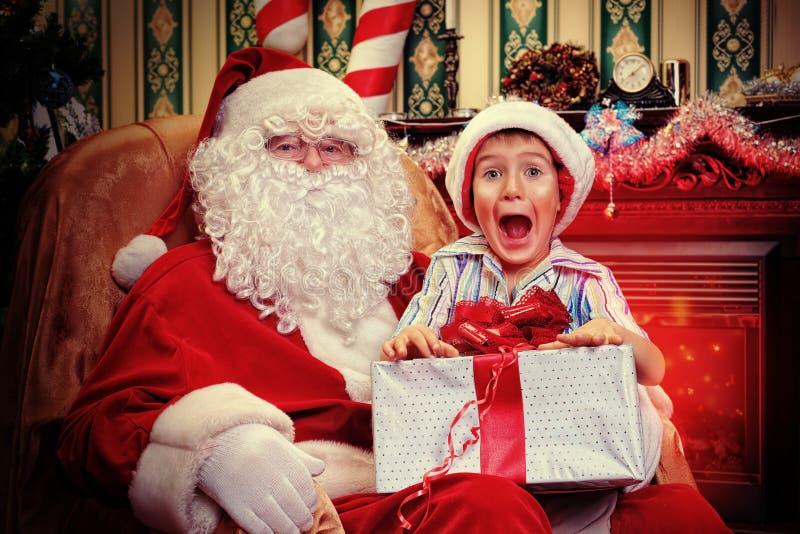 Santa domestica immagini stock