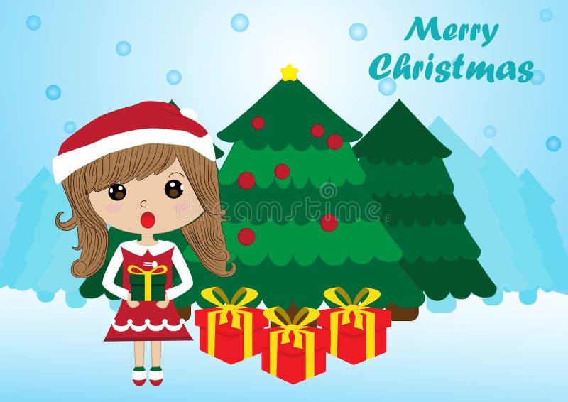 Santa dziewczyna zdjęcia stock