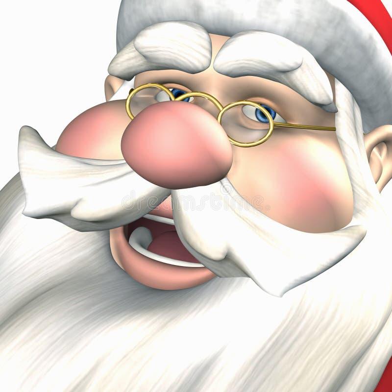 Santa - elfo ole allegro illustrazione vettoriale