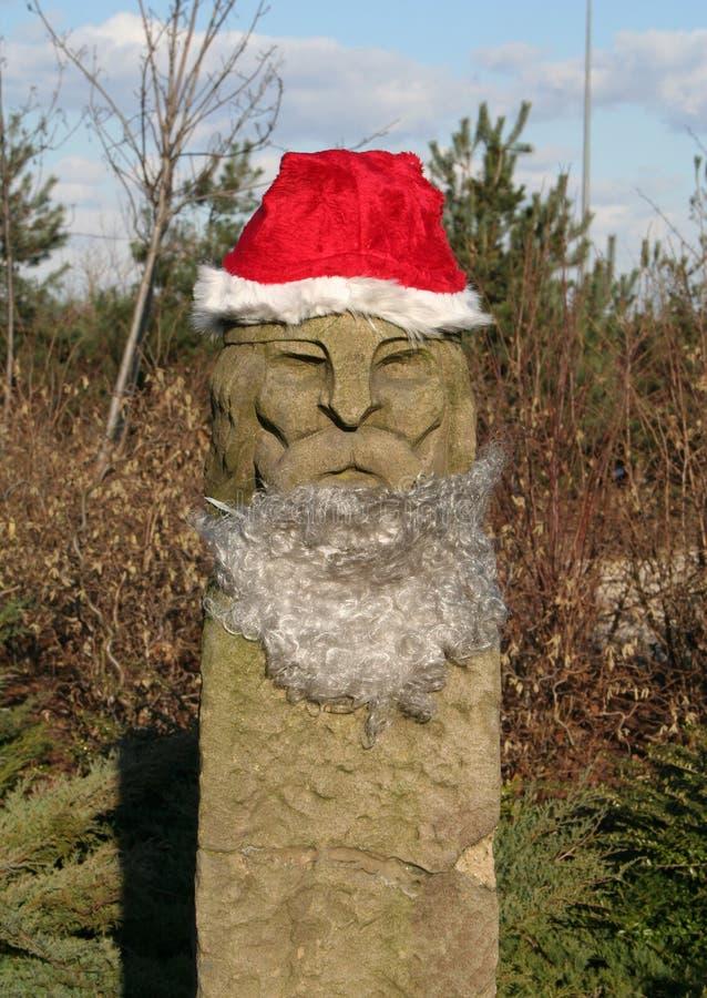 Santa es un Vikingo. fotografía de archivo