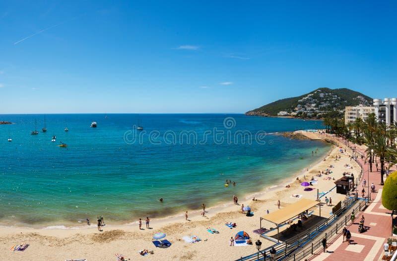Santa Eulalia del Rio, Hiszpania zdjęcia royalty free