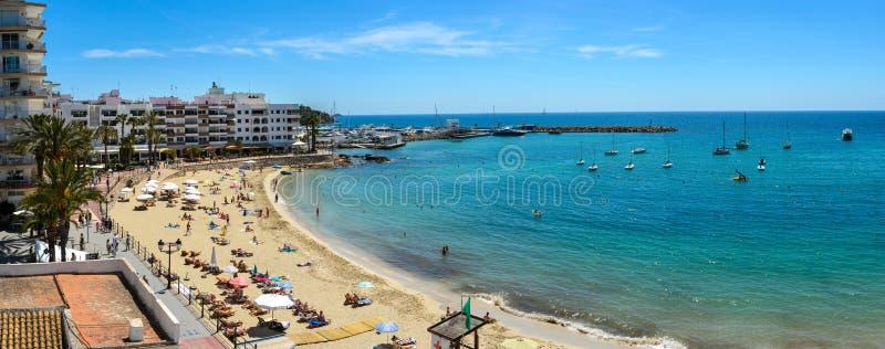Santa Eulalia del Rio, Hiszpania obraz stock