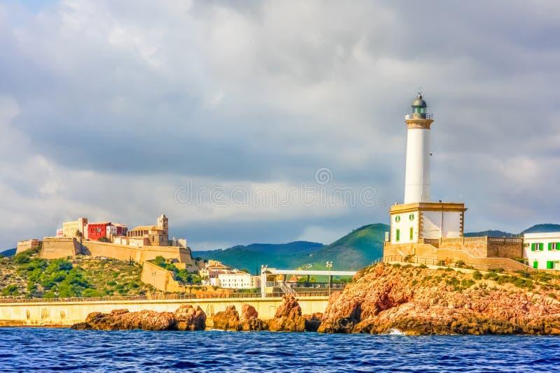 Santa Eulalia inminente del mar foto de archivo