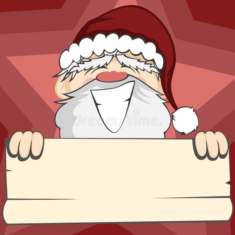 Santa Faces libre illustration