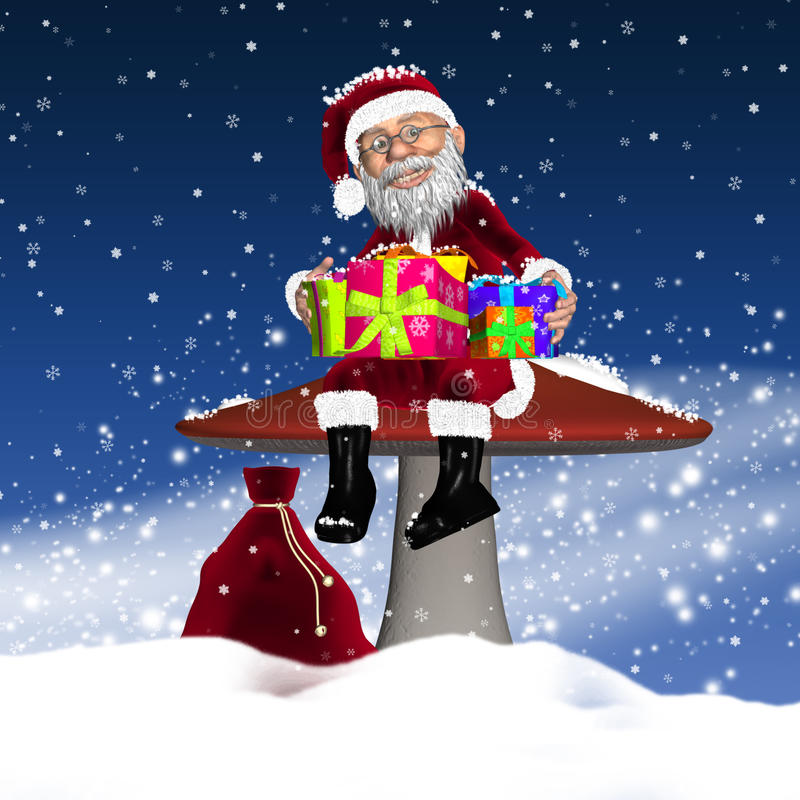 Download Santa / Father Christmas stock illustration. Image of design - 27031269
