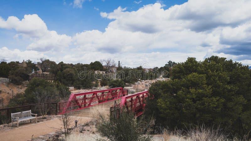 Santa Fe Botanical Garden Santa Fe, NM, USA arkivfoto