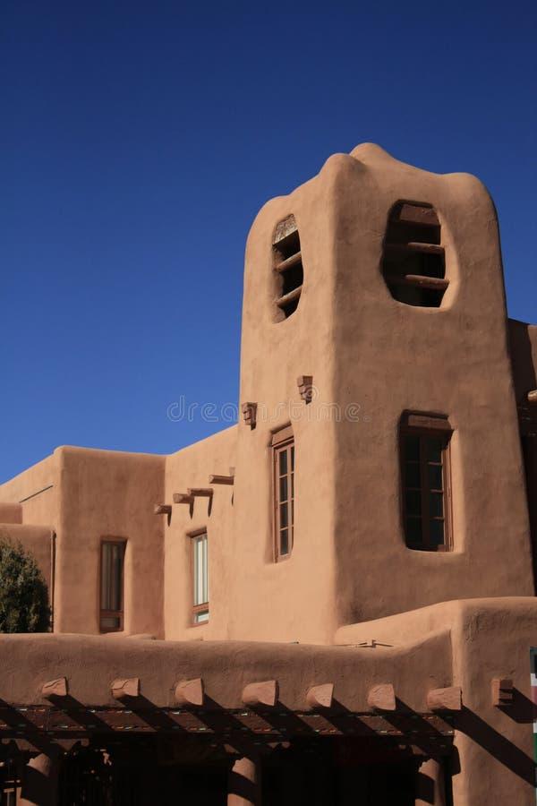 Santa Fe Building stock photo