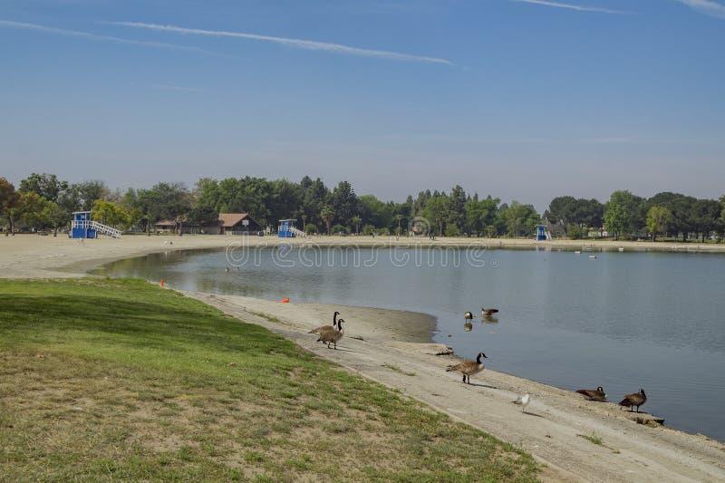 Santa Fe Dam Recreation Area stock afbeeldingen