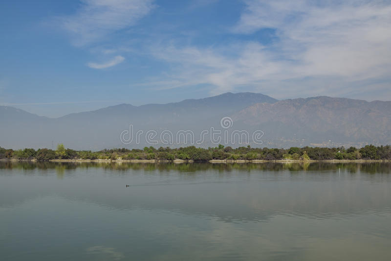 Santa Fe Dam Recreation Area royalty-vrije stock fotografie