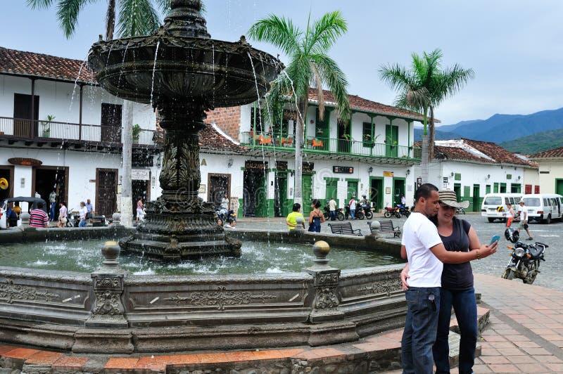 Santa fe De Antioquia, Kolumbia - obrazy stock