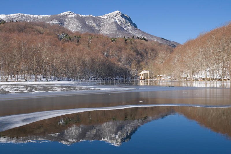 Download Santa Fe de Montseny stock photo. Image of peak, park - 23210208