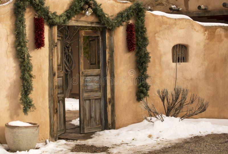Santa Fe Entryway foto de archivo libre de regalías
