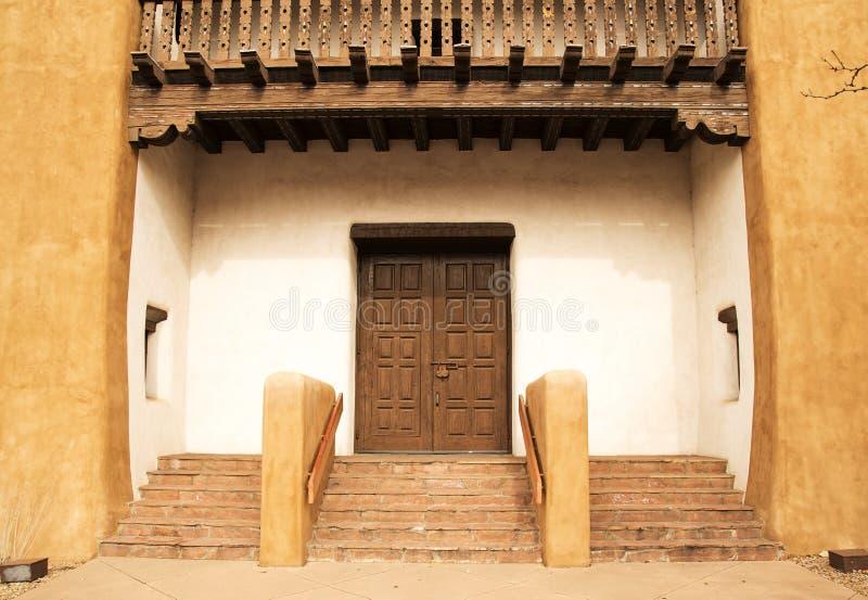 Santa Fe Entryway foto de archivo