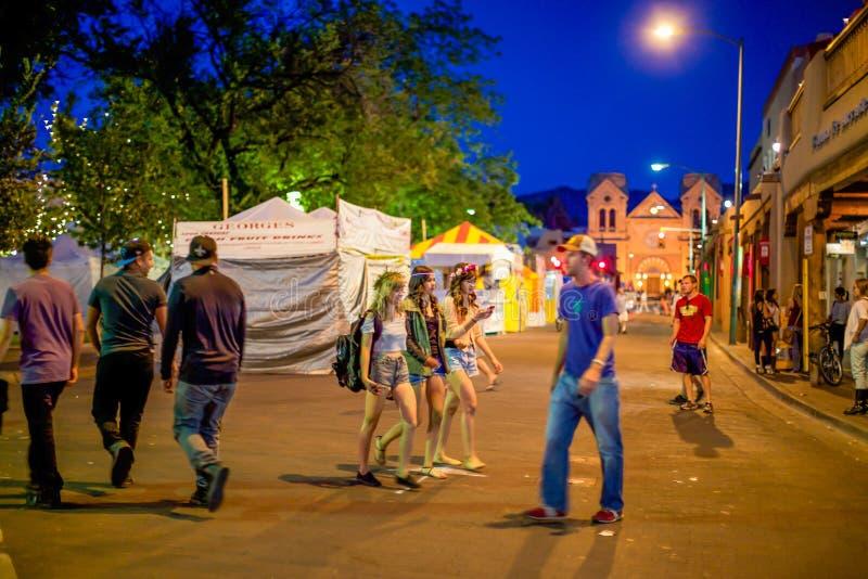 Santa Fe Fiesta royalty-vrije stock afbeeldingen