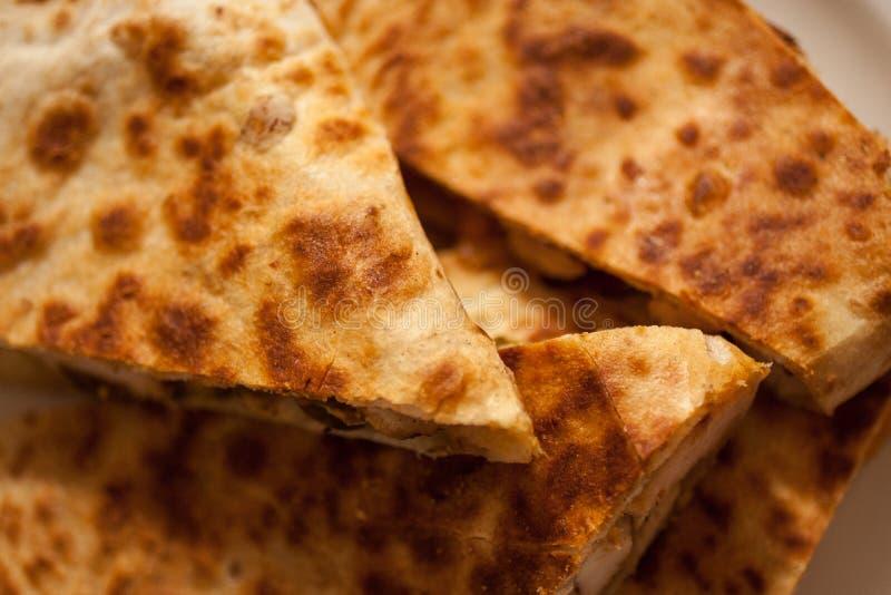 Download Santa Fe Grilled Chicken Quesadilla Stock Foto - Afbeelding bestaande uit geroosterd, spaans: 39117084