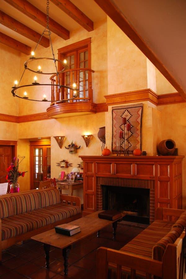 Santa Fe living. Santa Fe New Mexico living royalty free stock photos