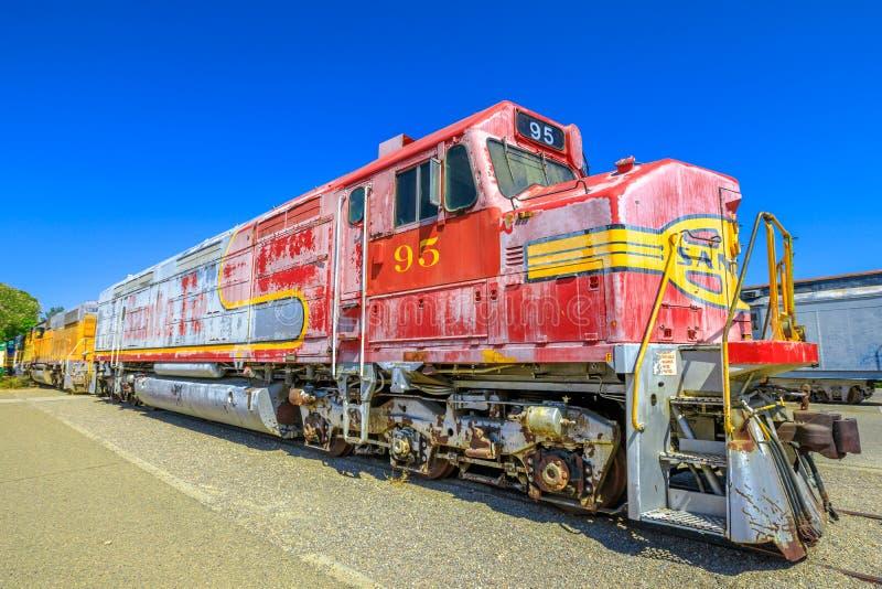 Santa Fe motor Barstow royaltyfri bild