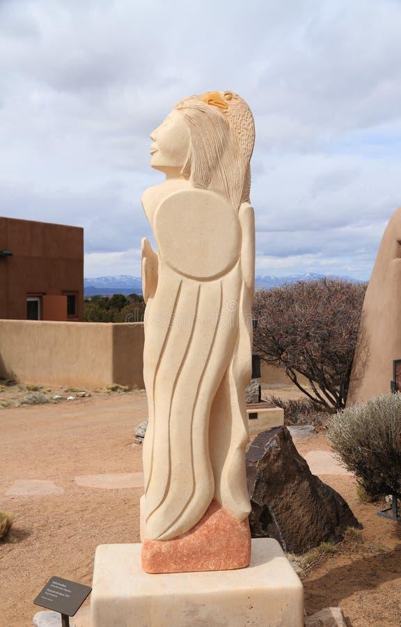 Santa Fe, nanómetro: Escultura - rezos para el futuro, 1999 fotografía de archivo libre de regalías