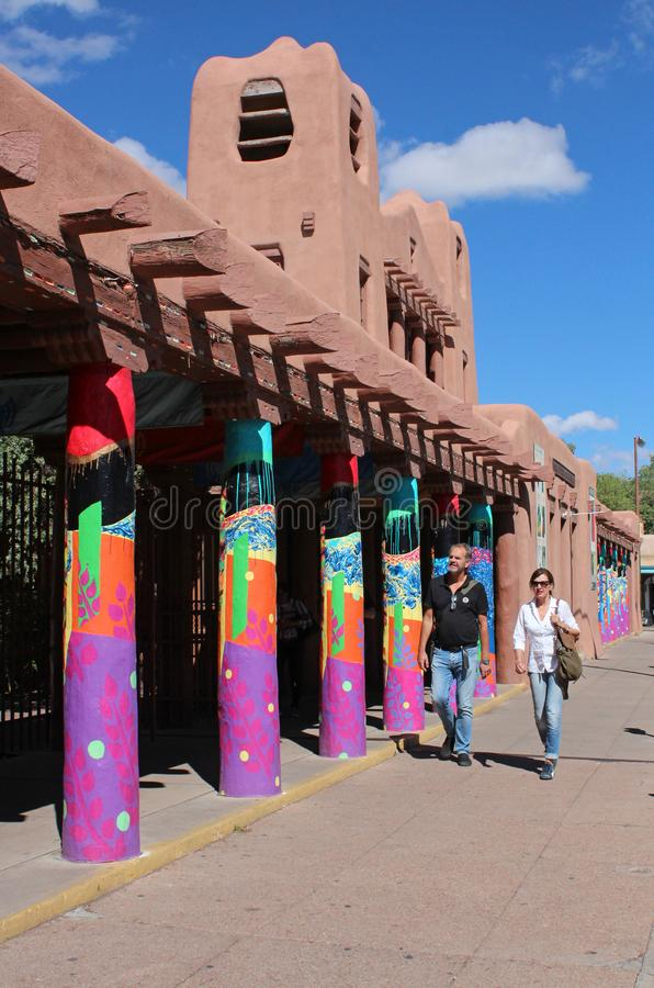 Santa Fe, New Mexico royalty free stock photo