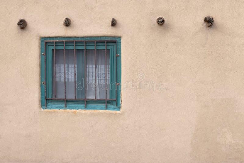 Santa Fe New Mexico Window stock photo