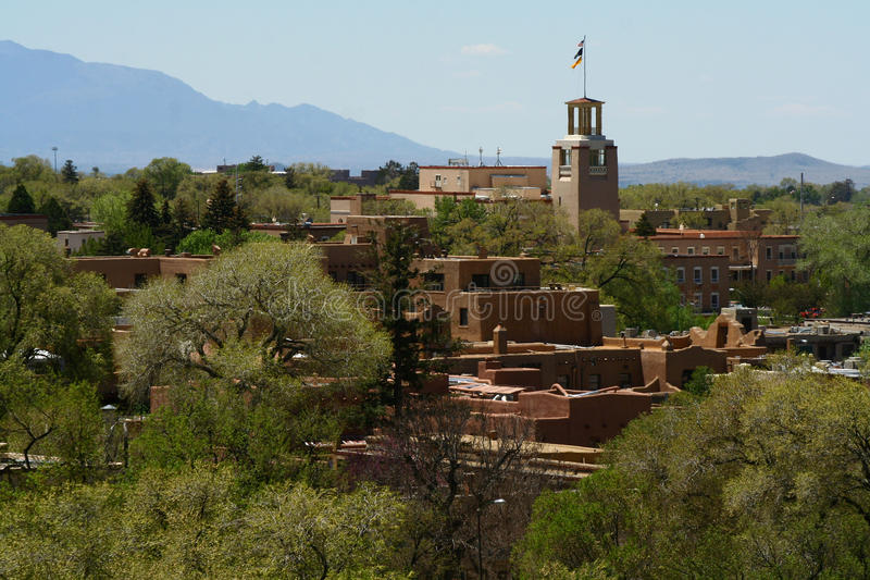 Santa Fe, New-Mexiko lizenzfreie stockbilder
