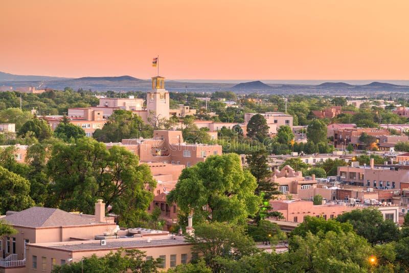 Santa Fe, Nowy - Mexico, usa obrazy stock