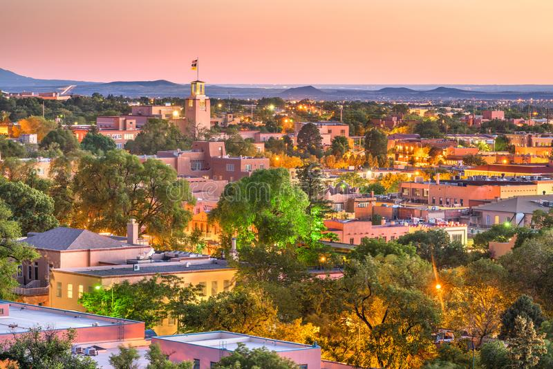 Santa Fe, Nowy - Mexico, usa obraz stock