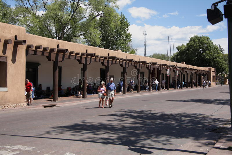 Santa Fe - palais des régulateurs photo stock