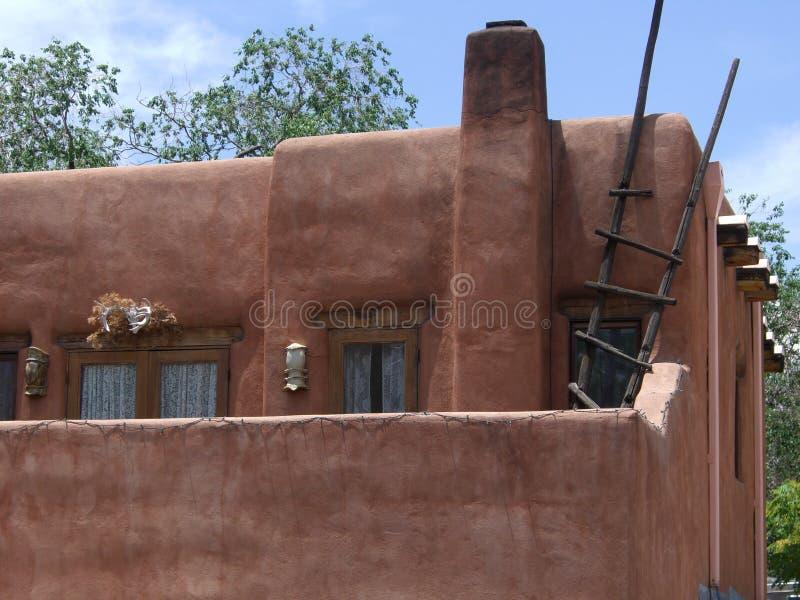 Santa Fe Restaurant. Photo of restaurant in Santa Fe New Mexico royalty free stock photo