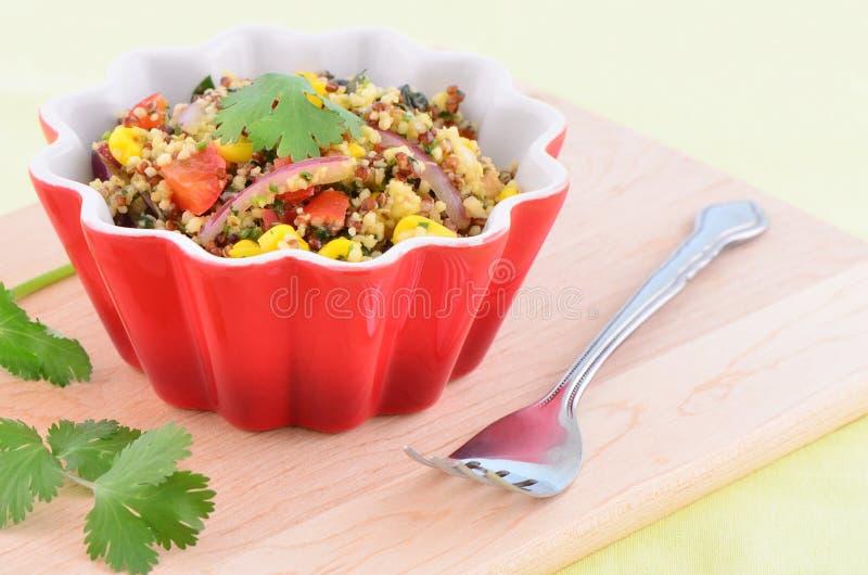 Download Santa Fe salad stock image. Image of quinoa, healthy - 40682215