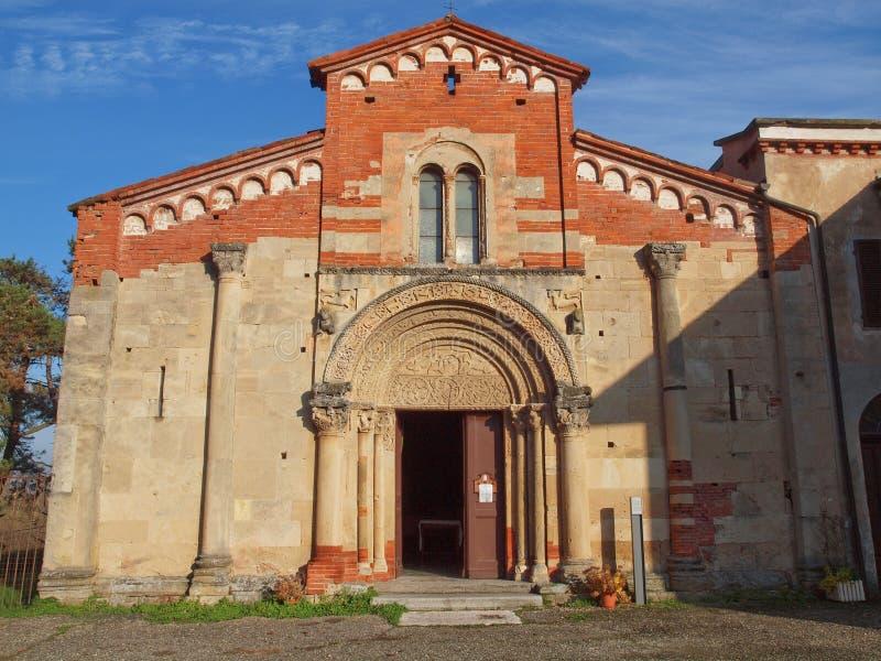 Santa Fede, Cavagnolo. Abbazia di Santa Fede abbey in Cavagnolo, Italy royalty free stock photos