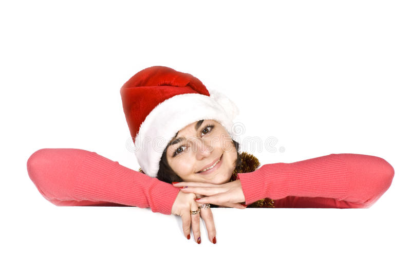 Santa femelle image libre de droits