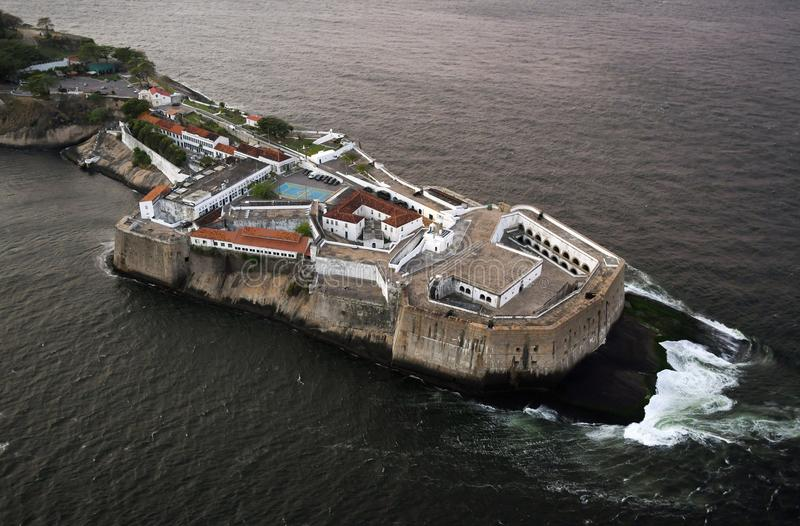 Santa Forteca Cruz da Barra obrazy royalty free