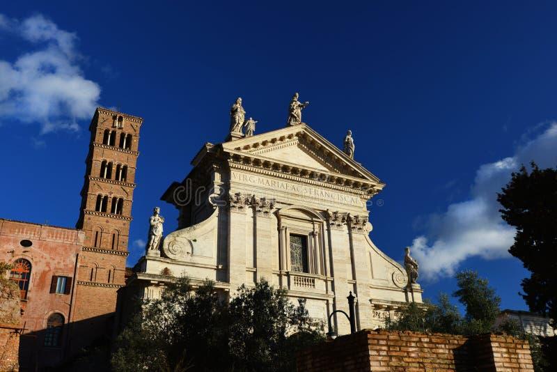 Santa Francesca Romana royalty-vrije stock foto