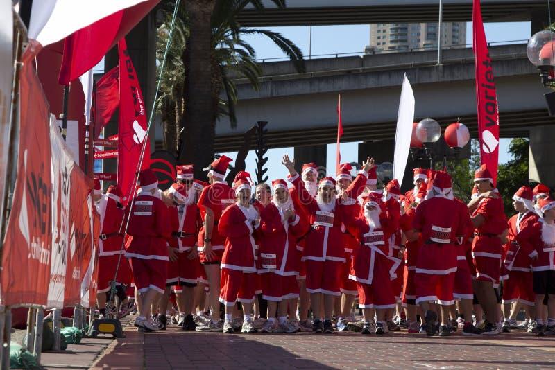 Download Santa fun run editorial image. Image of lifestyle, merry - 22197855