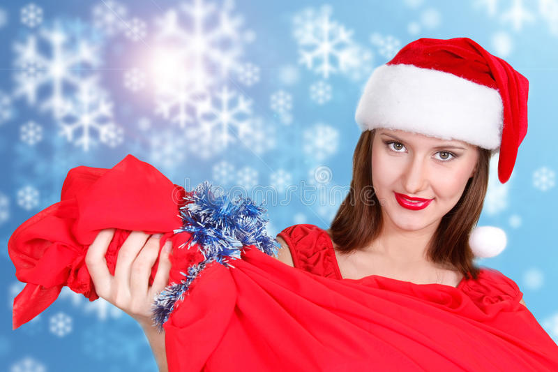 Download Santa Girl Stock Photography - Image: 12015262