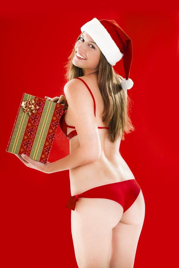 Free Santa Girl Royalty Free Stock Image - 16480826