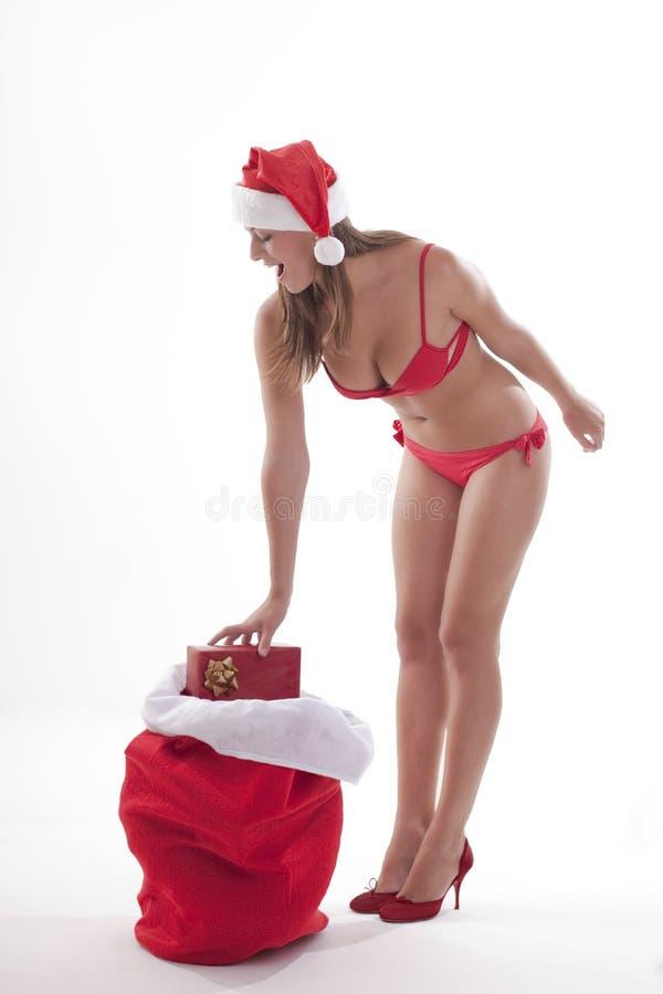 Free Santa Girl Stock Photography - 16481132