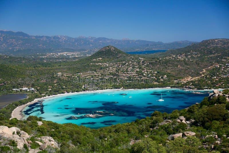 Santa Giulia beach royalty free stock photography