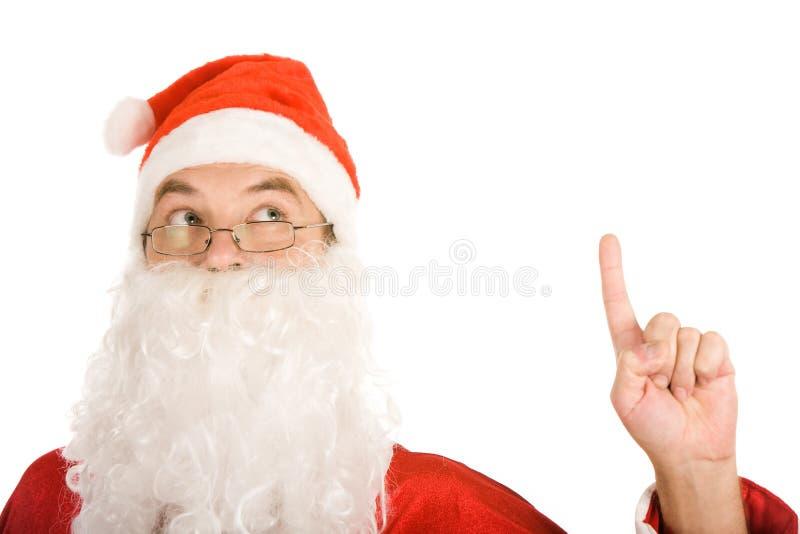 Santa ha idea fotografie stock libere da diritti