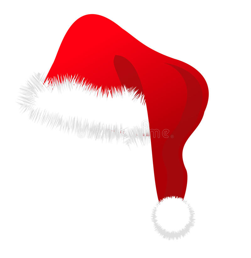 Santa Hat. Santa's traditional hat and an iconic symbol of christmas
