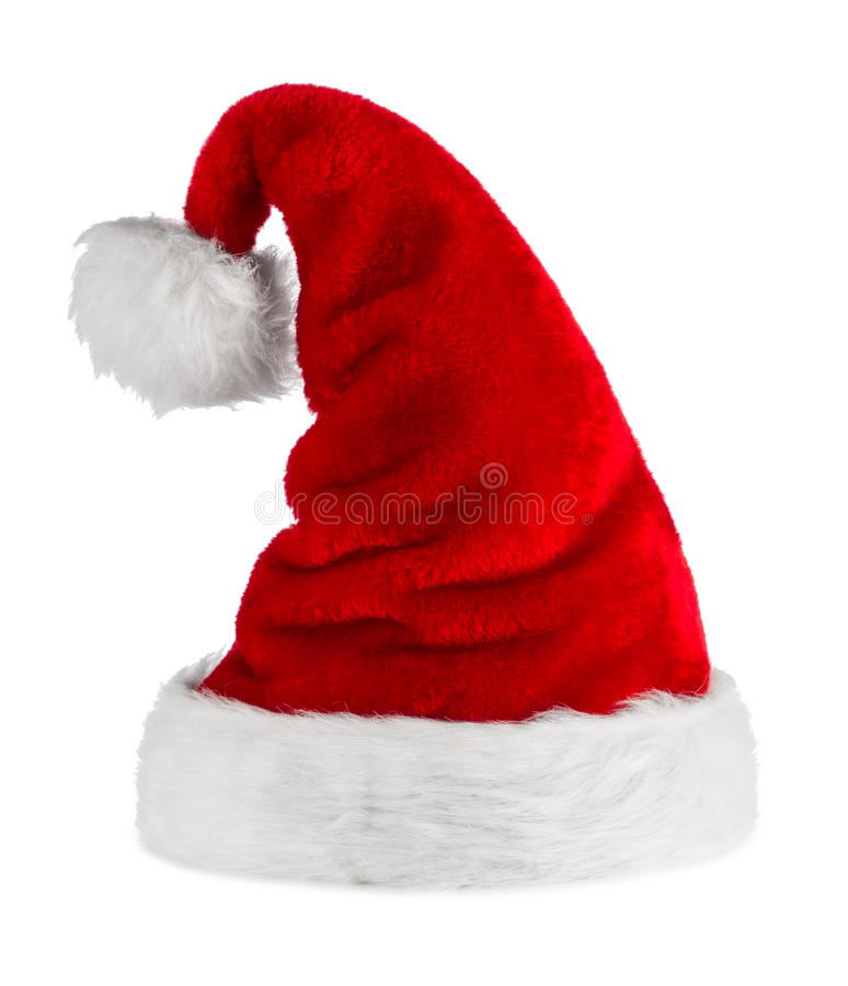 Download Santa hat stock photo. Image of season, white, isolated - 27927616