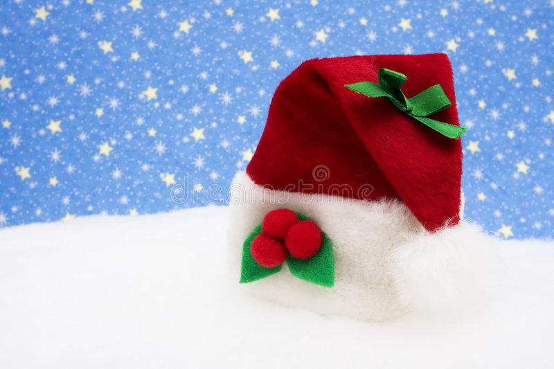 Santa Hat stock photography