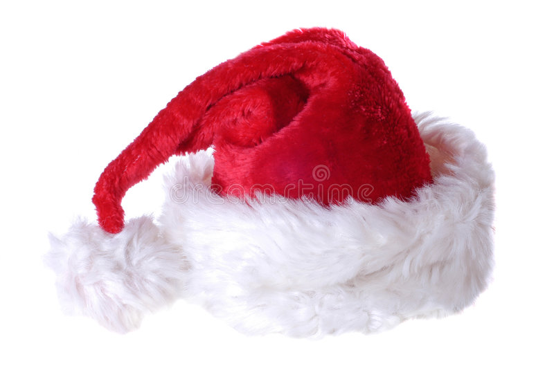 Santa hat stock image