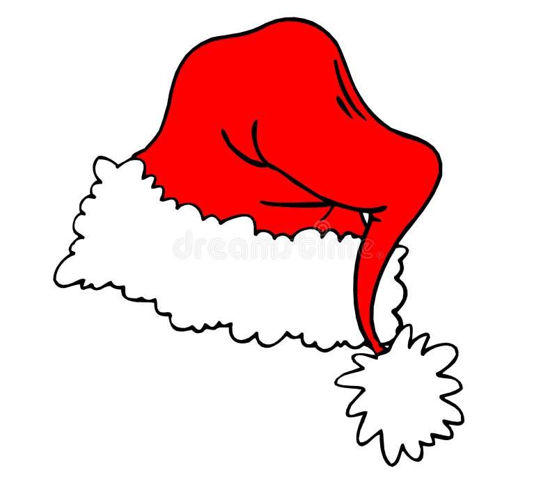Santa hat royalty free stock photography