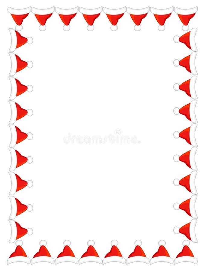 santa hat border frame stock illustration illustration of cheer rh dreamstime com
