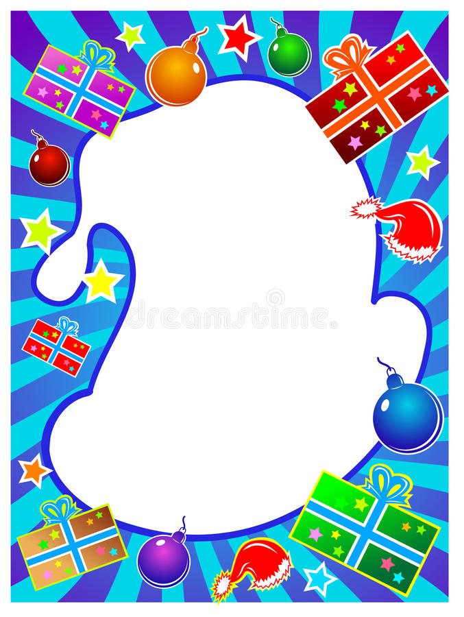 Download Santa hat frame stock vector. Image of tradition, santa - 22356323