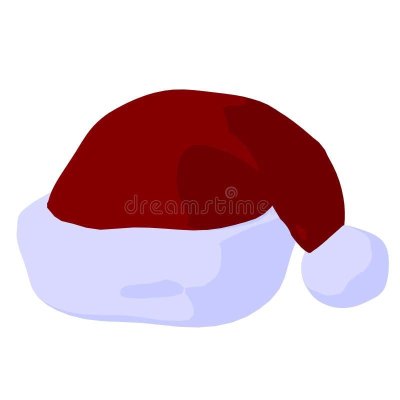Download Santa Hat Illustration stock illustration. Image of christmas - 16427539