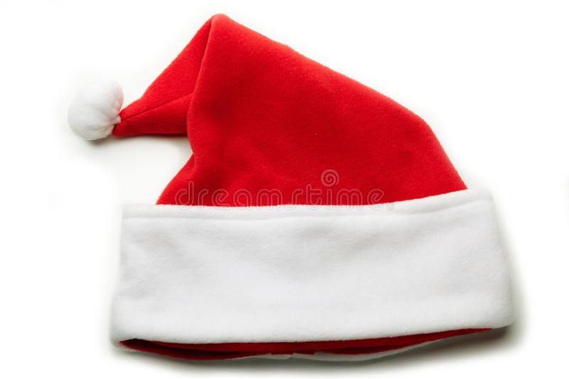 Download Santa Hat on white. stock image. Image of object, christmas - 27101377